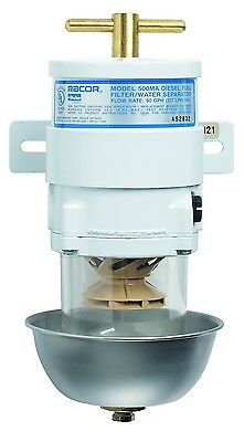NEW Racor Marine 500MA2 Fuel Filter Water Separator 2 micron 500ma
