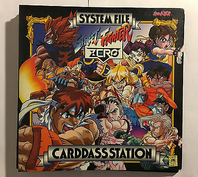 Classeur Street Fighter Zero Carddass Station System File