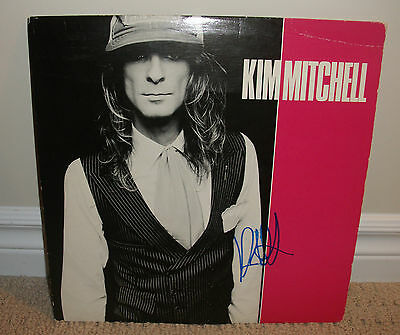 Kim Mitchell: Self Titled Vinyl LP Record *Autographed* Signed!! Record Sale