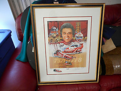 """Don """"the Snake"""" Prudhomme Lithograph, 1 0F 25 Remarqued Prints, Coa"""