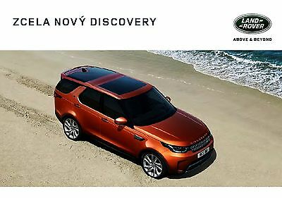 2017 MY Land Rover Discovery 09 / 2016 brochure catalogue 126 p.