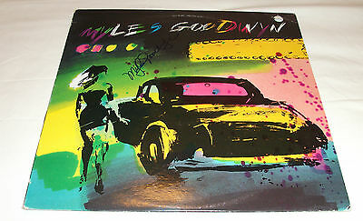 MYLES GOODWYN - Self-titled VINYL LP RECORD (APRIL WINE) *SIGNED* Record Sale!