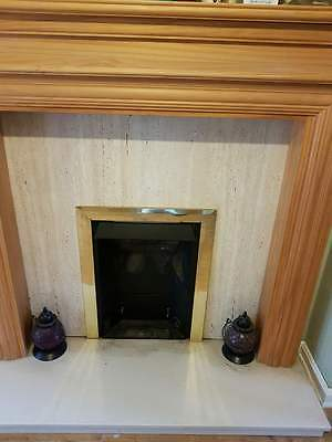 Marble Fireplace Surround And Base