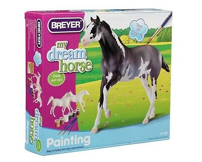 Breyer Model Horses Paint Your Own Horse Activity Kit #4114 Arabian & Thoroughbr