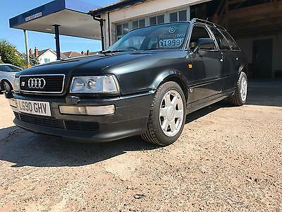 Audi 80 2.2 S2 230bhp AVANT Quattro Not RS2 Low miles Leather HPI Clear
