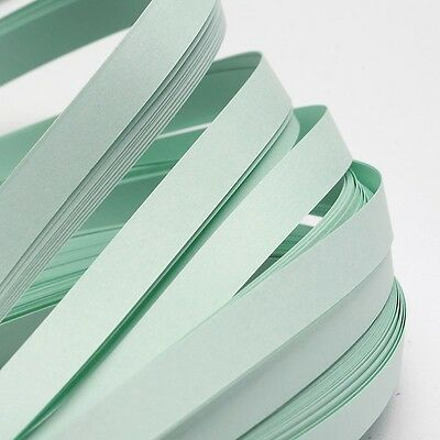 120pcs QUILLING PAPER STRIPS - PALE TURQUOISE - DIY papercraft craft wholesale