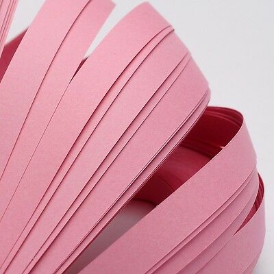 120pcs QUILLING PAPER STRIPS - PINK - DIY papercraft craft wholesale