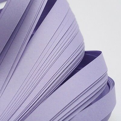 120pcs QUILLING PAPER STRIPS - LILAC - DIY papercraft craft wholesale