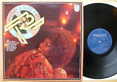 Various Artists – Rhythm And Blues Party – Uk Philips Lp (1973) *re-Issue*