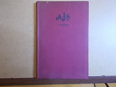 AJS Motor Cycles From 1931 By F.W,Neill  Motorcycle Book / Manual Published 1948