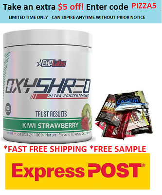 Ehplabs Oxyshred Thermogenic Fat Burning Weight Loss Free Express Shipping.