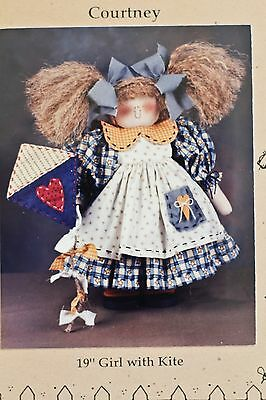 "MULBERRY STREET ""Courtney"" 19"" Girl with Kite - New in Package"