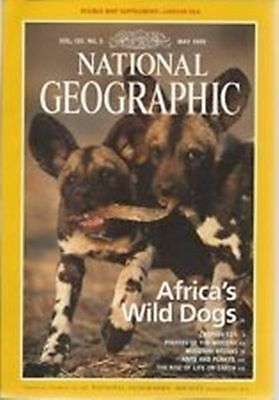 Africa's Wild Dogs.Vol.195.No.5.May.1999.NATIONAL GEOGRAPHIC.End Of Stock!
