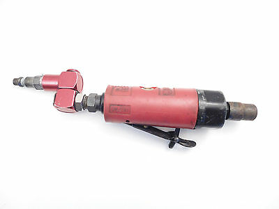 Matco Tools USA RL301 Pneumatic Air Die Grinder Cut Off Red Grip +Swivel Fitting