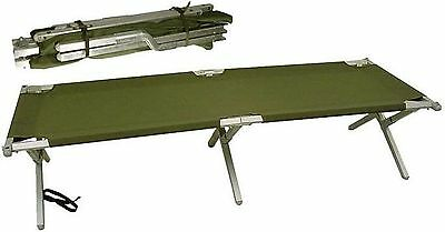 US United States Army Issue American Military Aluminum Cot New In Box Unused