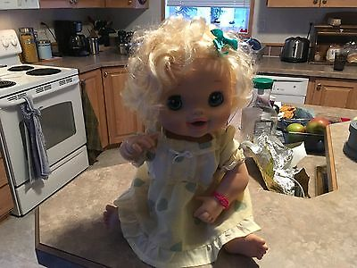 2010  My Baby Alive Interactive  Doll
