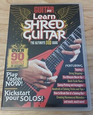 Learn Shred Guitar Lesson Ultimate Dvd Guide