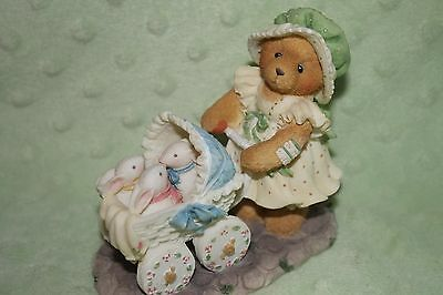 """Cherished Teddies Figurine Jessica-Special Artists Ed """"A Mother's Heart is Full"""