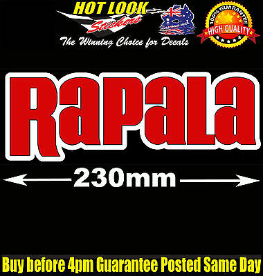 Rapala Lure Fishing Boat Sticker for Camping Tandem Trailer Caravan Bar Fridge