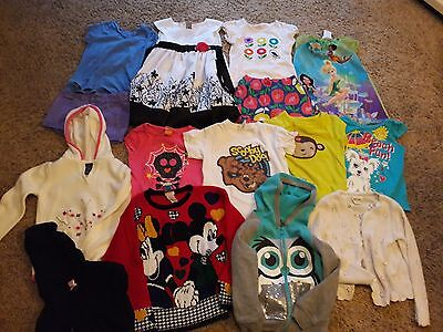 Lot Of Girls Clothes 15 Piece Items Size 4/5 - Shirts, Dresses