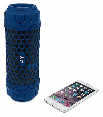 KitSound Hive Discovery Portable Outdoors Waterproof Bluetooth Wireless Speaker