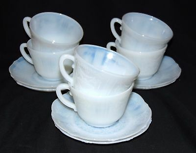 6 Macbeth Evans AMERICAN SWEETHEART MONAX *CUPS & SAUCERS*