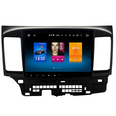 Android 8.0 Car Stereo for Mitsubishi Lancer Radio GPS Navigation Head Unit Dash
