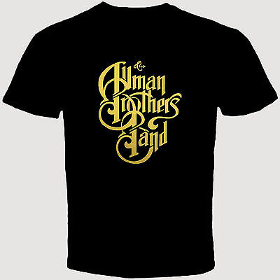 New THE ALLMAN BROTHERS Band Rock Blues Black Men's T-Shirt S to 3XL