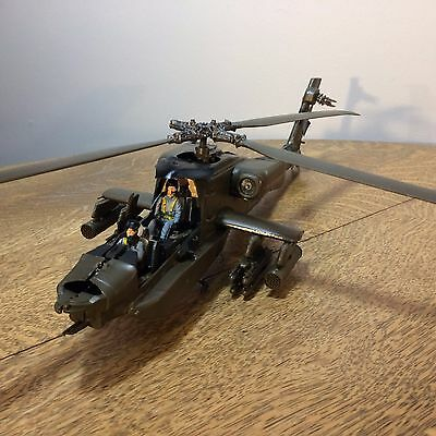 Model Helicopter Finished Junkyard Parts AS IS for Parts or Restorations