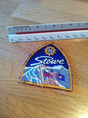 Vintage Travel Patch Stowe