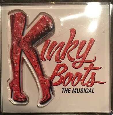 Kinky Boots Broadway Musical 3D Magnet Cyndi Lauper Todrick Hall Billy Porter