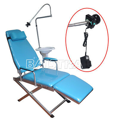DHL Fast Shipping Dental Portable Simple Type Folding Chair Allguest