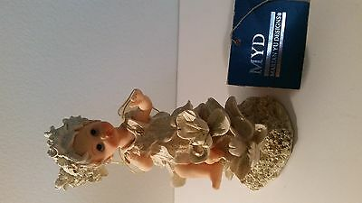 RARE Marian Yu Porcelain 6 1/2 Inch Hand Crafted Doll