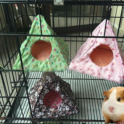 Hammock for Hamster Parrot Pet Squirrel Guinea Pig Rabbit Hanging Bed Toy House
