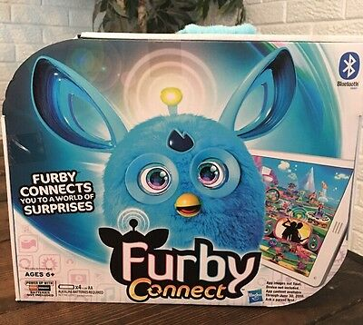 BRAND NEW IN BOX Hasbro Furby Connect Friend - Blue With Bluetooth