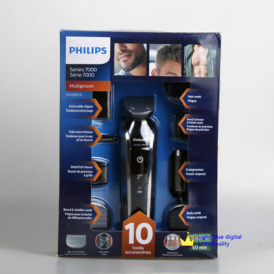 Philips Norelco Multigroom Pro Trimmer Series 7000 with Pouch QG3396/16