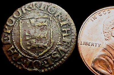 S550: 1669 Farthing - YARMOUTH TOWN.  Norfolk 286L - old collection piece