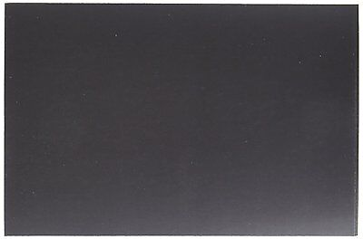 Darice 3 Piece Sticky Back Magnet Sheet, Black Great for Mounting Photos, Crafts