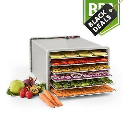 Klarstein Fruit Jerky Pro Food Dehydrator 6 Tier Dryer Fish Meat Vegetables 630W