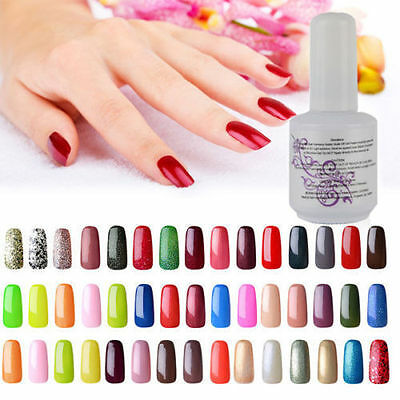 15ML Esmalte de Uña de Gel Polish Color Soak off UV LED Manicura Arte