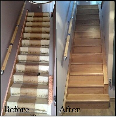 14x Solid Oak Stair Cladding  -     FREE DELIVERY NOW ON