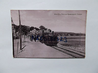 Postcard Wales Mumbles Train at Oystermouth Station, Nr Swansea  Gower