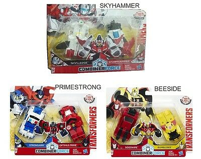 Transformers Robots In Disguise Combiner Force Beeside Primestrong Skyhammer