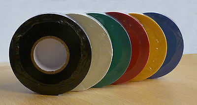 New 33M PVC Adhesive Insulation Lifting/Sock Tape in all colours F.A. Regulation