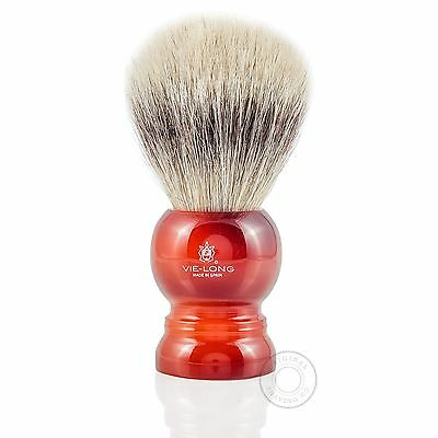 Vie-Long 13066 White Horse Hair Shaving Brush
