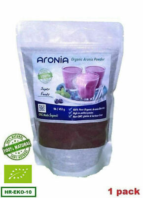 ARONIA Berry Chokeberry Extract POWDER - Organic Production - 1lb/453g