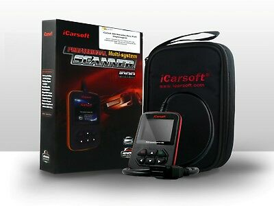 iCarsoft i980 OBD Tiefen-Diagnose Motor Getriebe ABS Airbag pass. für Mercedes