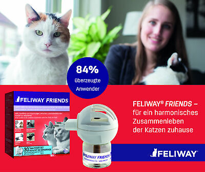 FELIWAY FRIENDS Start Set / Nachfüller - NEU (!!!!) Original Feli- Scratch