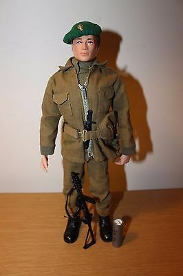 Vintage Action Man Ultra Rare Royal Combat Marine Uniform And Figure Complete
