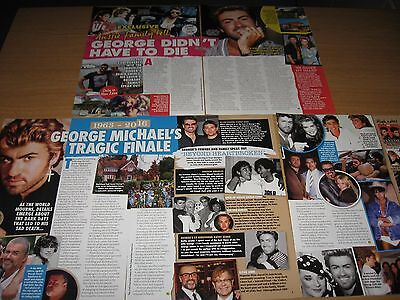 GEORGE MICHAEL - Australian Magazine and Newspaper Clippings